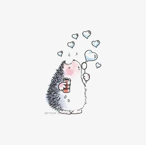 Cute Hedgehog PNG - Free Download