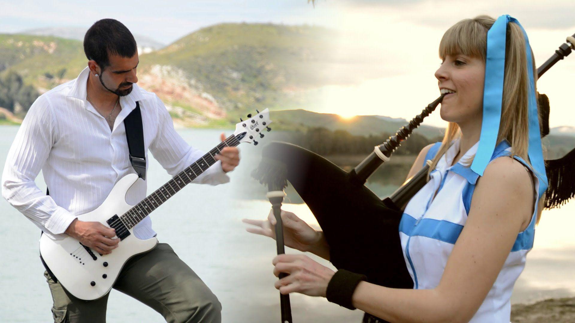 Fairy Tail Main Theme (bagpipes, guitar, piano) Fairy
