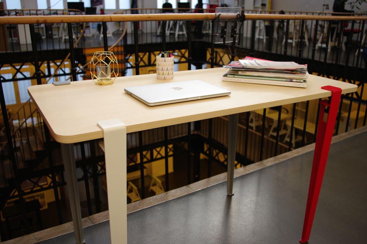 Fabriquer Un Bureau De Travail le bureau de sophie, fabriqué en quatre tours de vis