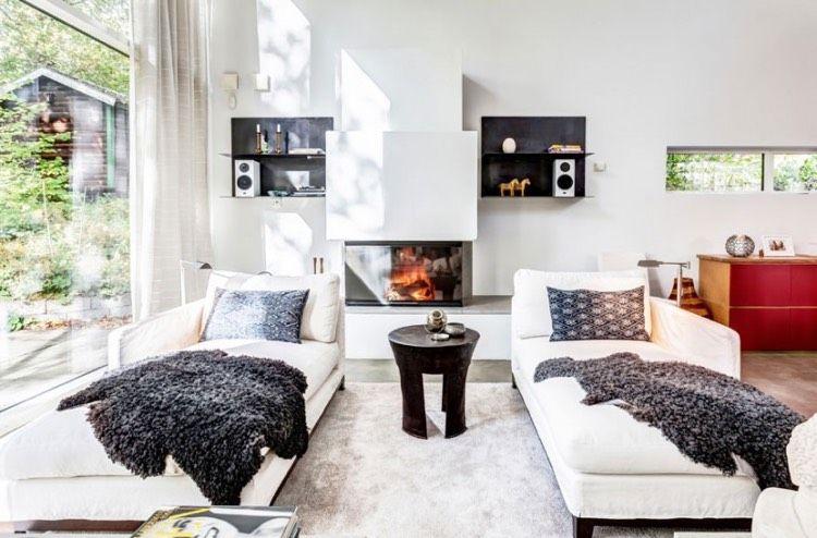 Wohnzimmer Ohne Sofa Einrichten 20 Ideen Und Sitz Alternativen Wohnzimmer Modern Wohnzimmer Gestalten Sofa Design