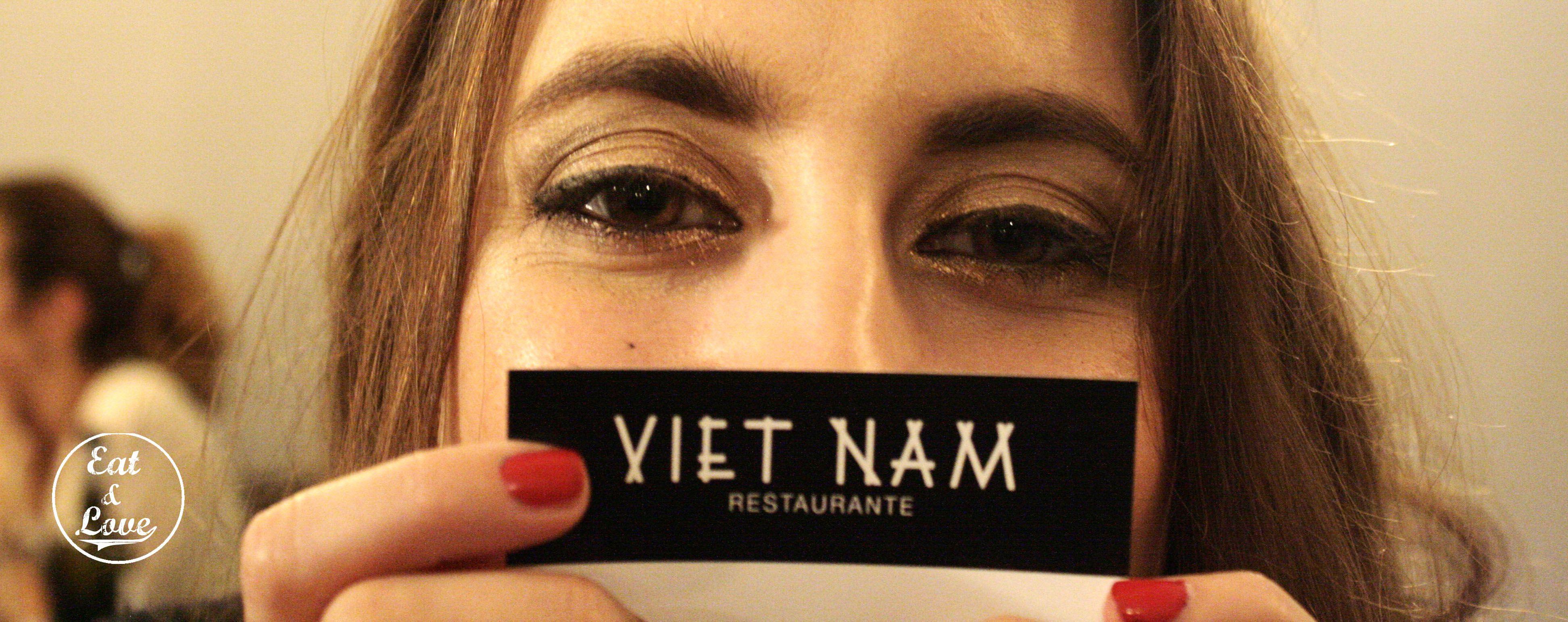 Tarjeta restaurante Vietnam - Madrid