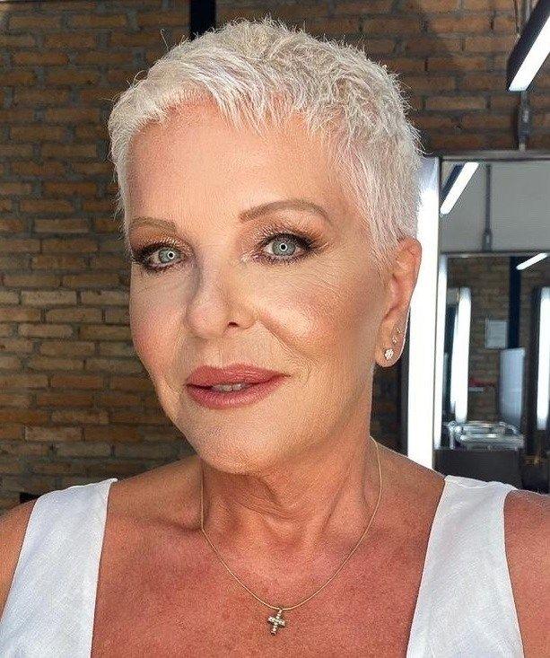 50 Wonderful Short Haircuts for Women Over 60 - Ha