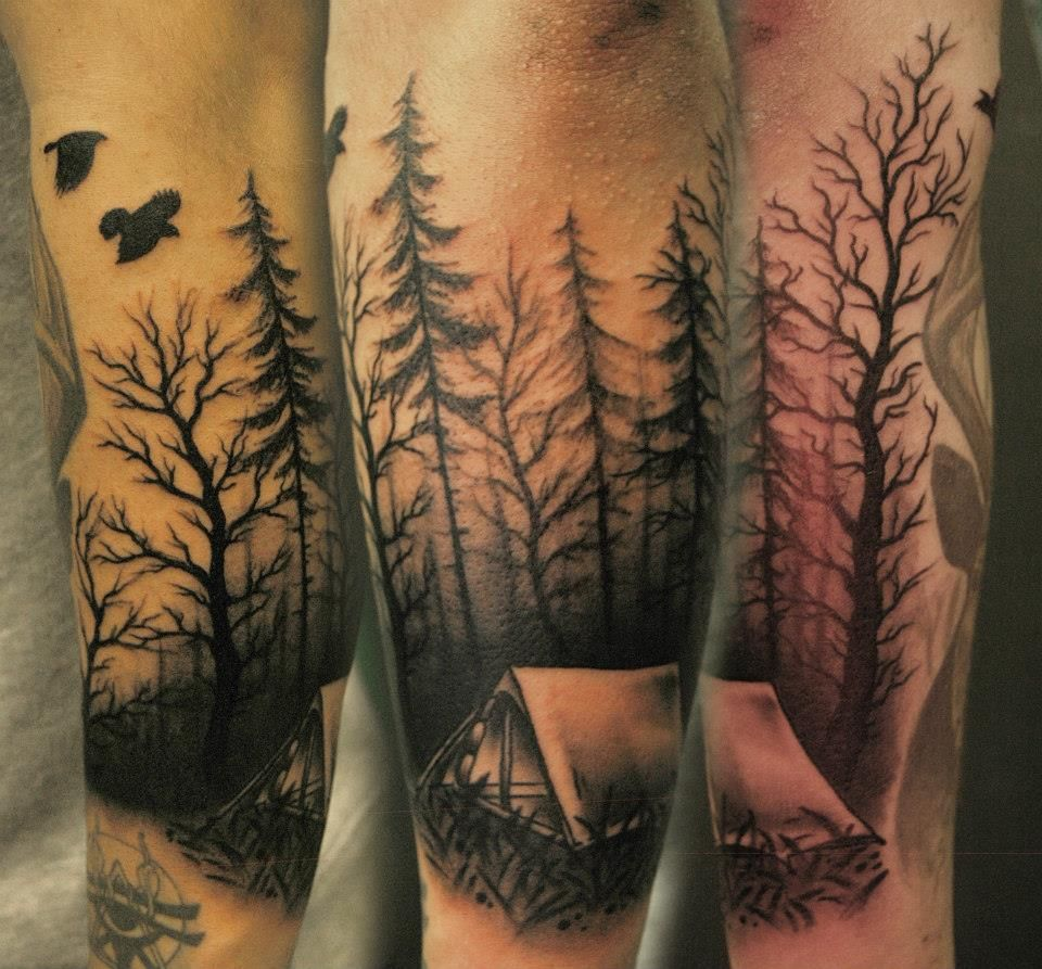 Forum on this topic: 60 Camping Tattoos For Men – Wilderness , 60-camping-tattoos-for-men-wilderness/