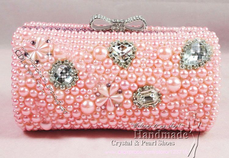 New Fashion Style Women/'s Sparkle Spangle Clutch Evening//Wedding//Party Bag