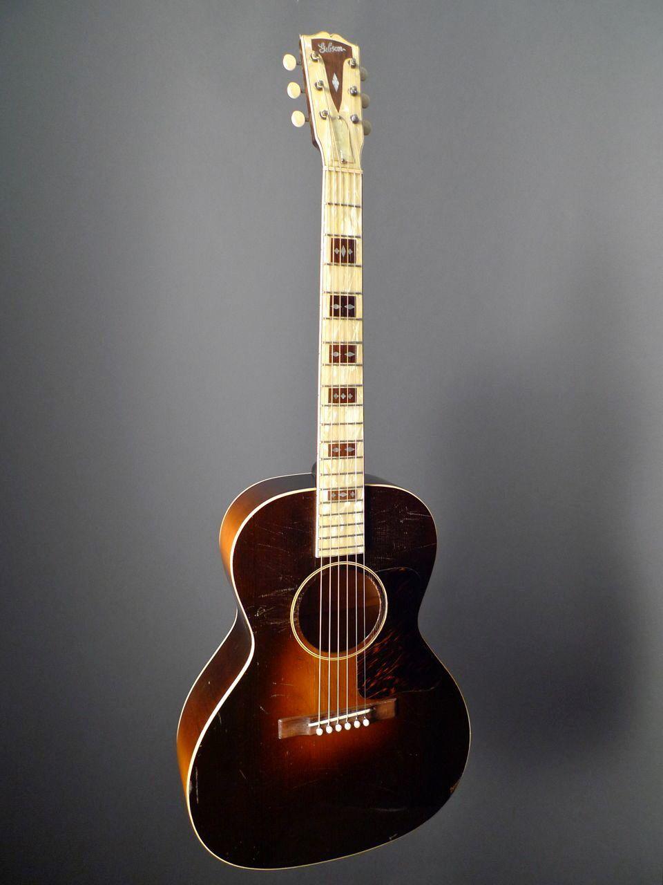 guitars vintage Gibson l-century