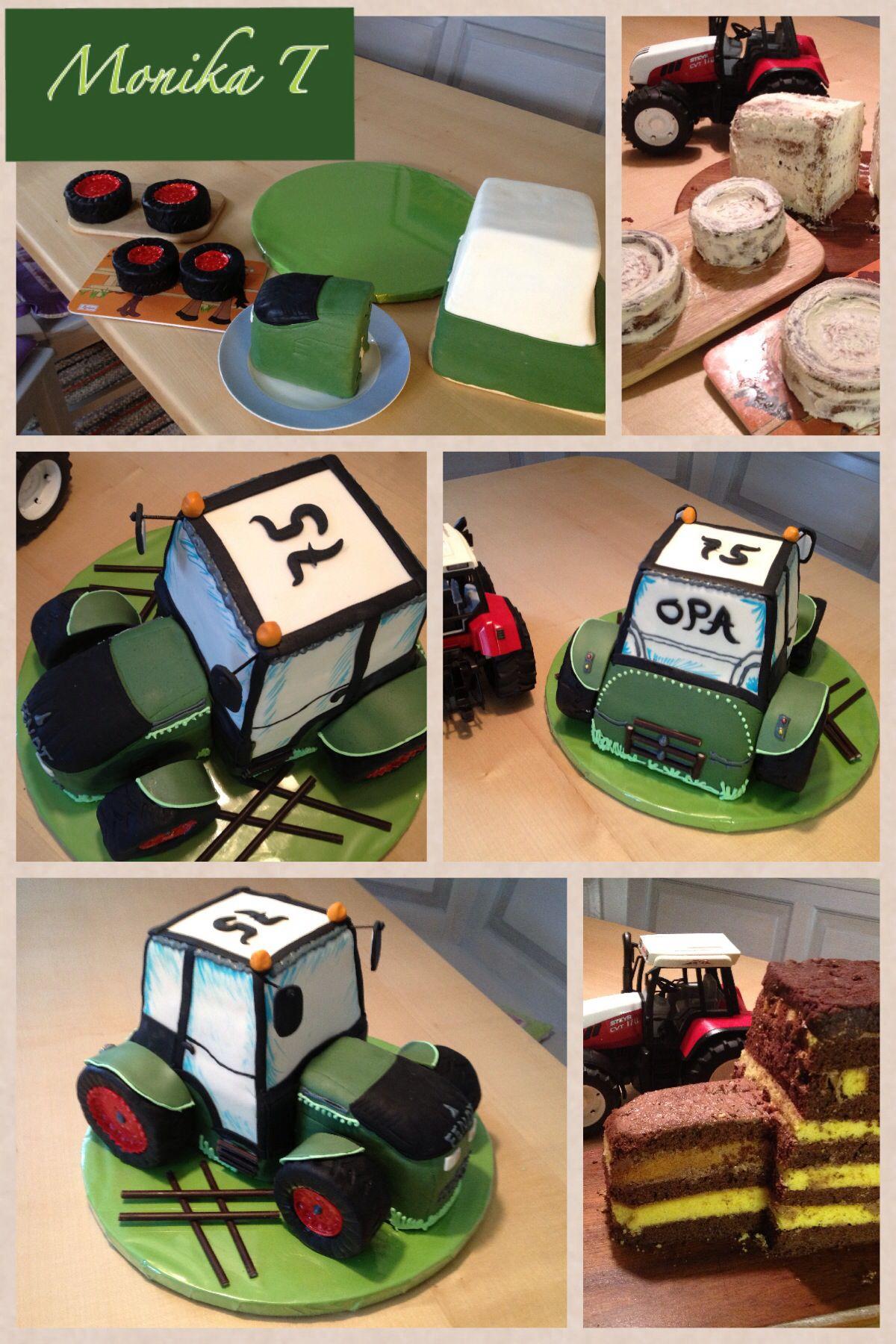 Torte Traktor Anzahl Kuchen