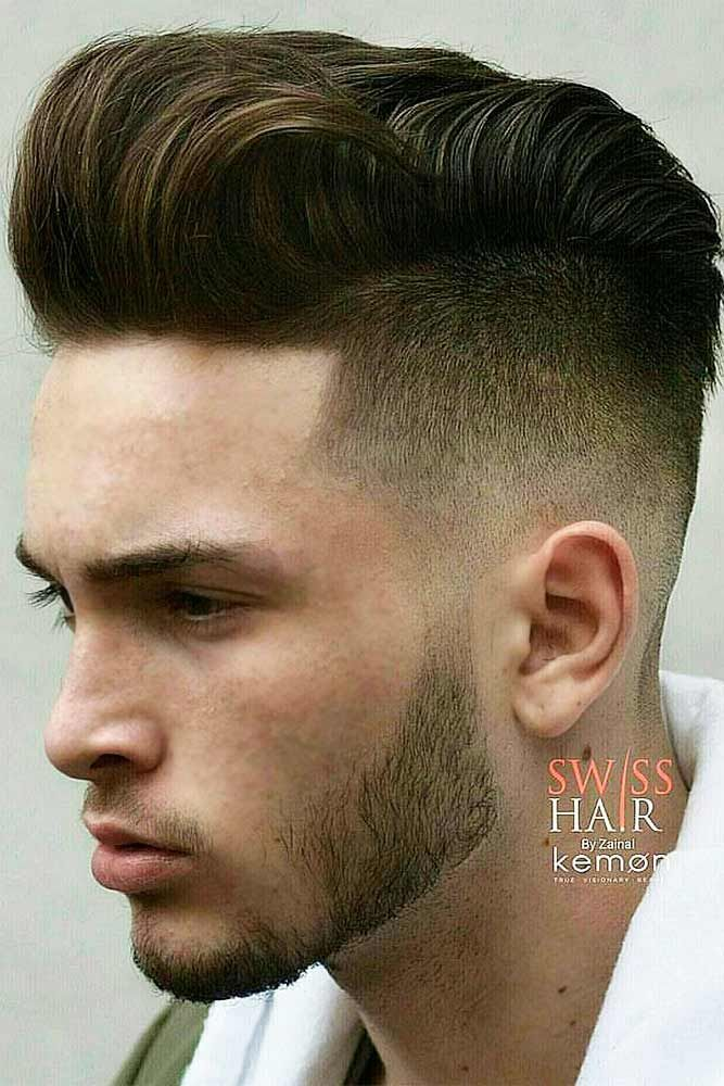 Opt For A Comb Over Haircut To Stay Up To Date Hairstyles And