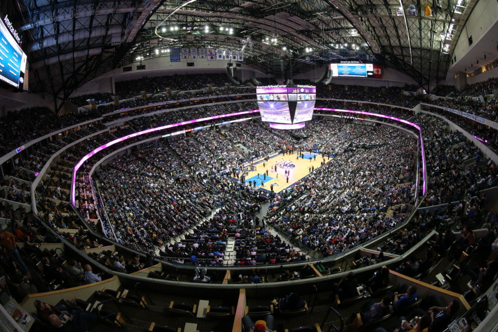 Stadium Tech Report Aruba At T Team Up To Bring Wi Fi To American Airlines Center American Airlines Center Seating Charts Nba Arenas