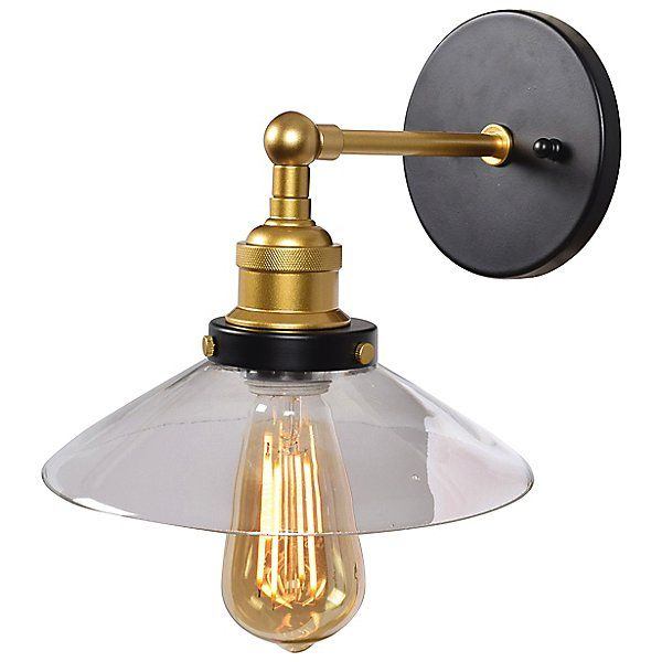 The District Led Retro Wall Sconce Sconces Led Wall Sconce