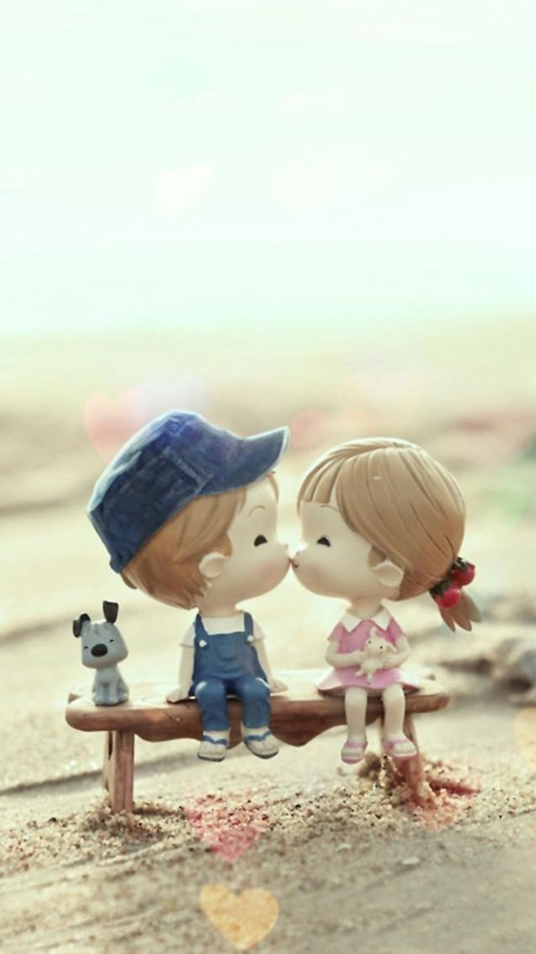 60 Cute Love Couple Phone Wallpapers Cute Love Wallpapers Cute Couple Cartoon Cute Love Cartoons