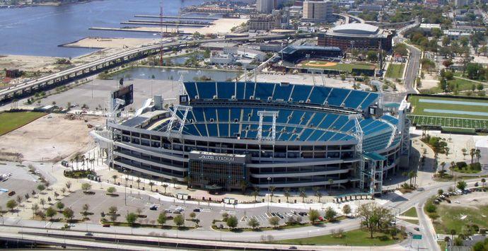 Everbank Field Formerly Alltel Stadium Jacksonville Fl Home Of The Nfl Jacksonville Jaguars Nfl Stadiums Everbank Field Jacksonville Jaguars