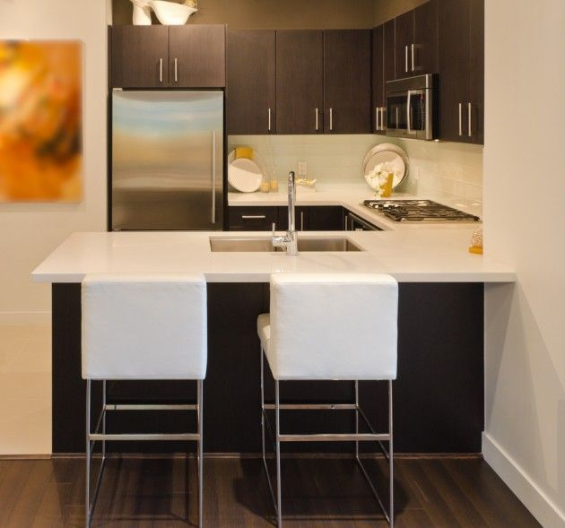 Ideas para decoracion y organizacion de espacios peque os for Cocinas chiquitas