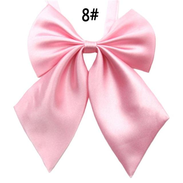 Hot Sale 2015 Formal Commercial Bow Tie Butterfly Cravat Silk Bowtie Solid Color Marriage Bow Ties For Women Formal Business