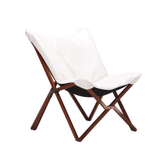Draper Leatherette Lounge Chair By DCOR Design