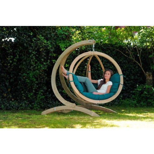 Globo Hangstoel Standaard.24designs Globo Chair Hangstoel Groen Standaard Meubels Groen