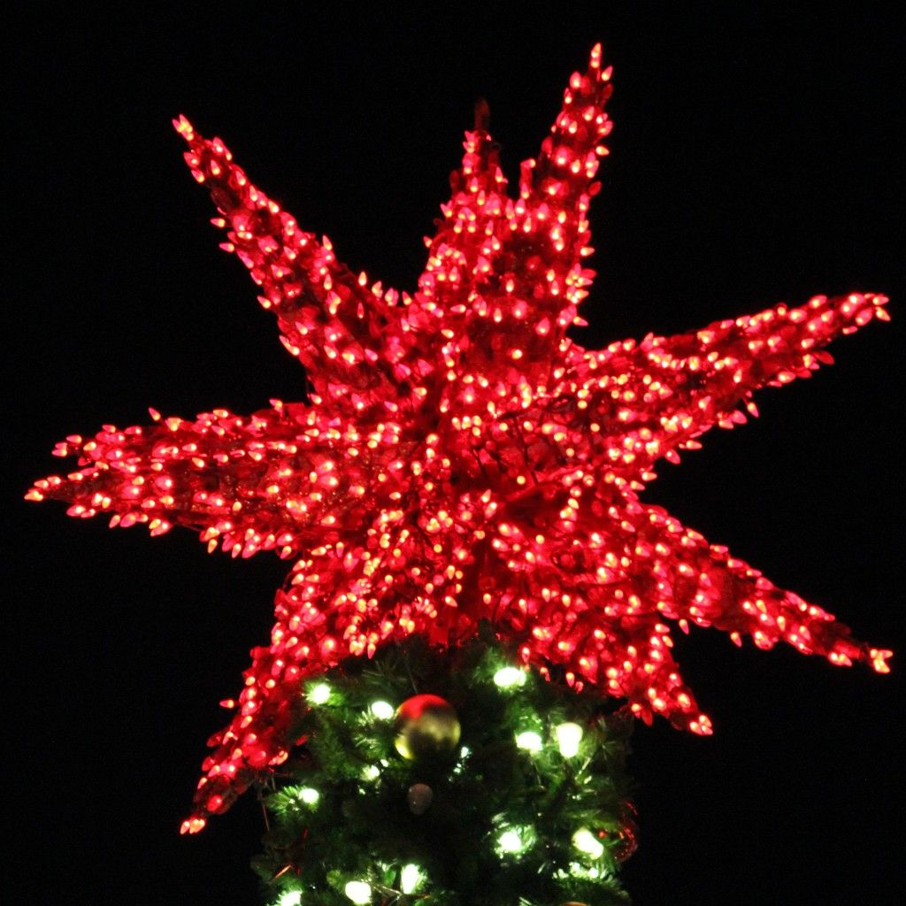 25 Christmas Trees Decorated With Lights Christmas tree