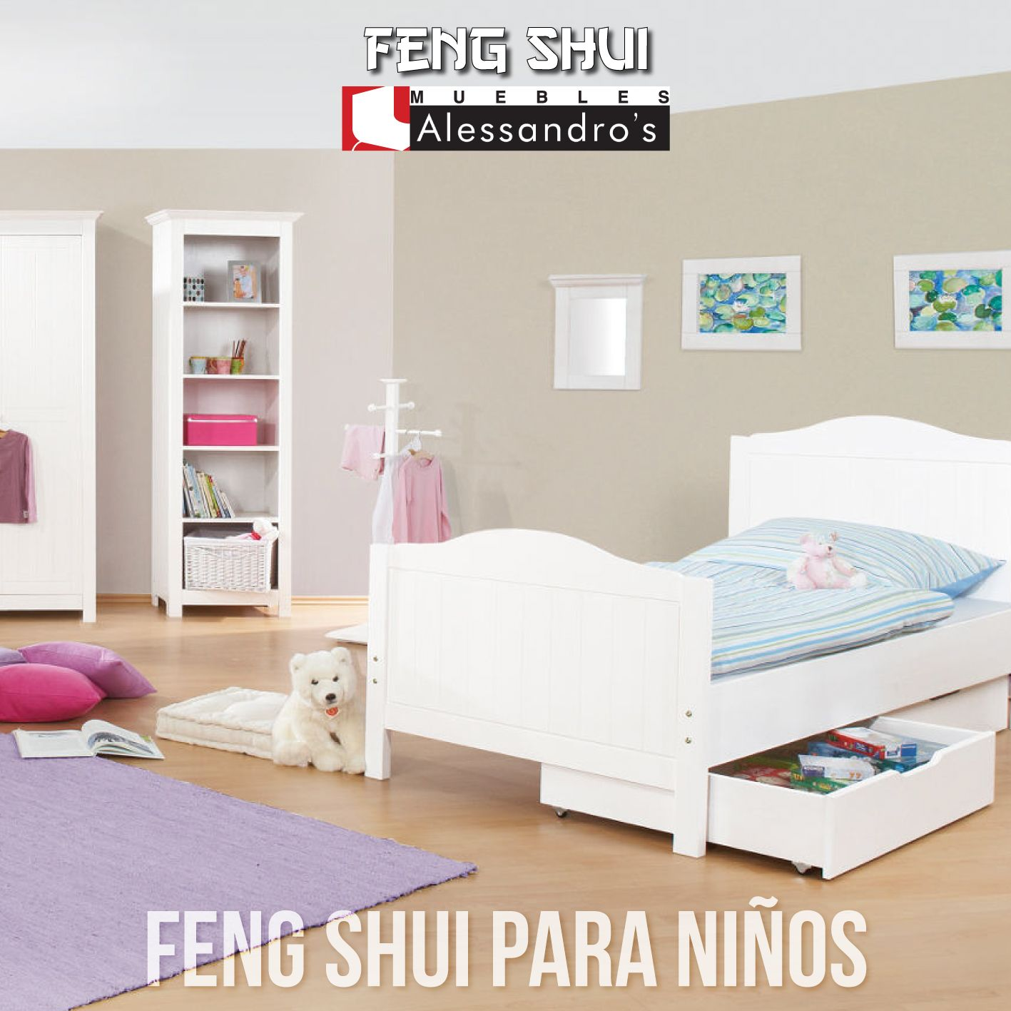 Para decorar el dormitorio de un ni o seg n el feng shui for Decoracion dormitorio matrimonial segun feng shui