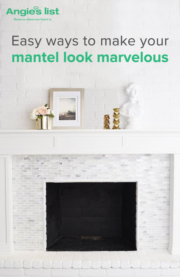 Good Style Your Fireplace Mantel For Every Season Good Ideas