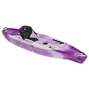 Ascend d10t sit on top kayak purple white outdoor gear for Bass pro fishing kayak