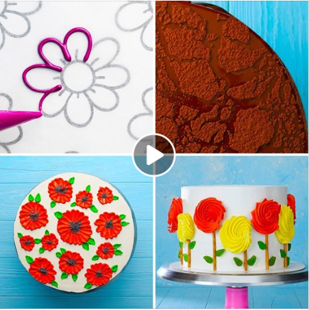 Easy cake decorating ideas. �