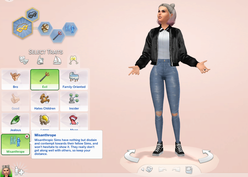 Mod The Sims Misanthrope Trait Sims Medieval Sims 4 Traits Sims 4 Sims Medieval