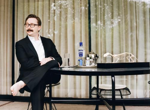 Nice choice of gin, John Hodgman.