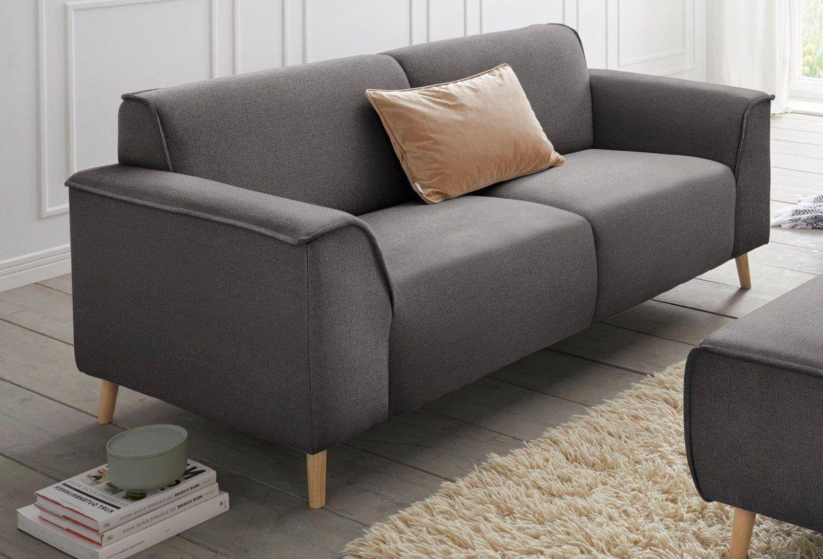 2 5 Sitzer Janek Mit Federkern Und Keder In Scandinavischem Design Design Home Living Skandinavisches Design