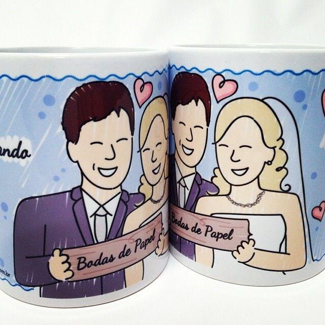 Lembrancinha de Bodas de Papel! Mas ótima ideia pra lembrancinha de casamento também!