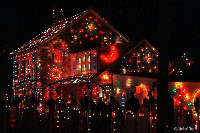 That\u0027s a lot of Christmas lights! Merry Christmas