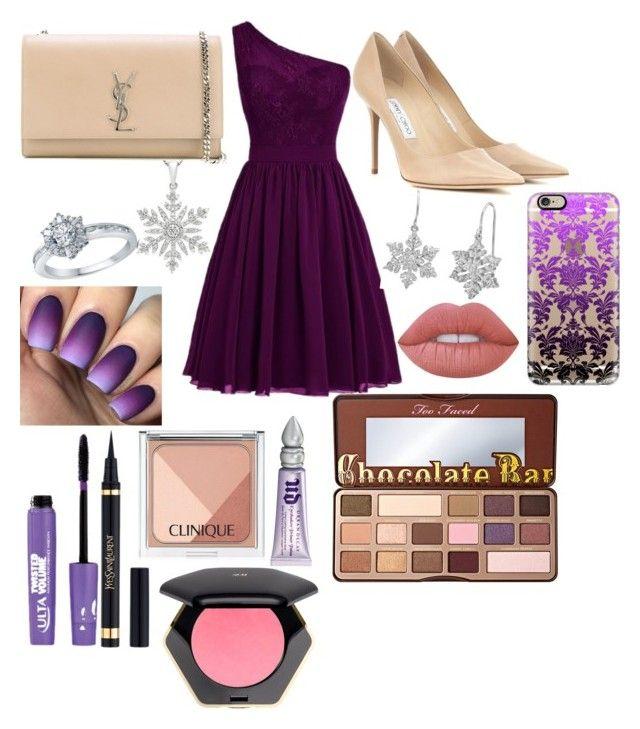 Clothes Design, Purple Prom Dress