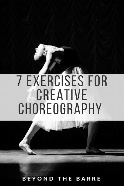 Choreography Exercises #danceandmovement