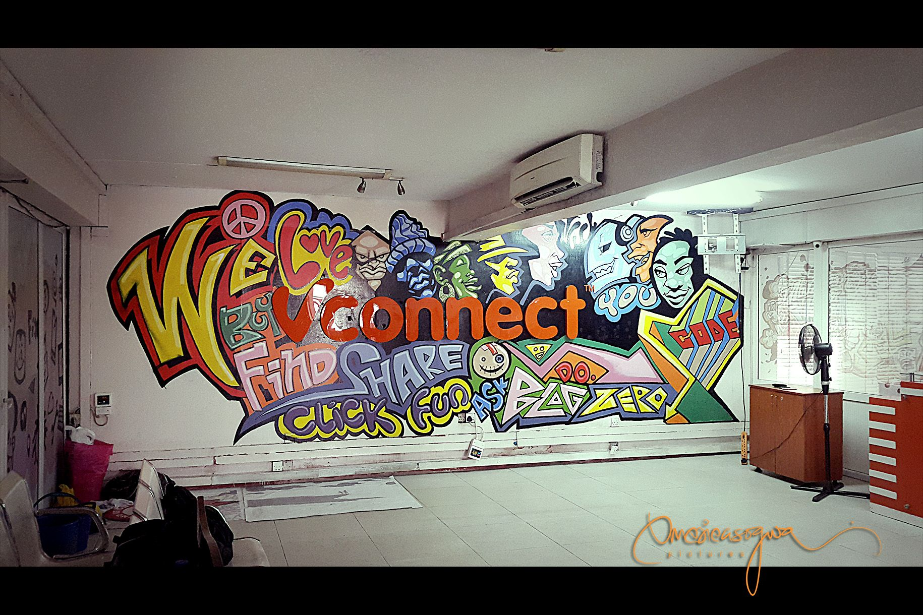 Image result for office graffiti art | 1711 Wall Treatment ...