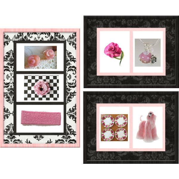 Pink gifts by keepsakedesignbycmm on Polyvore featuring Royal Albert, jewelry, accessories and decor