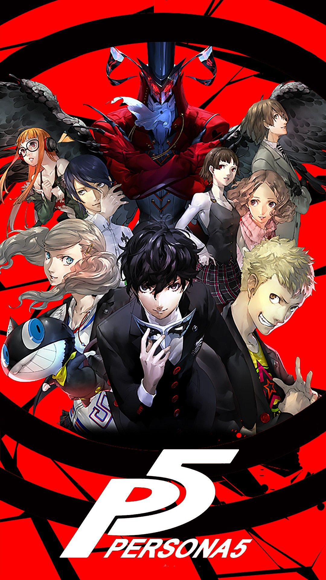 Pin By Wolf Girl On Phone Wallpaper Persona 5 Anime Persona 5 Persona