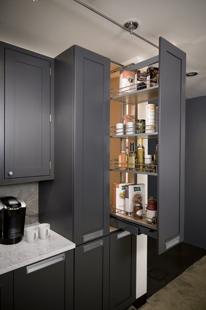 Kitchen Space Savers available from Aspen Kitchen and Bath in Far