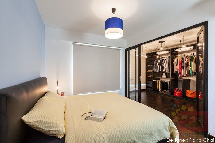 Find This Pin And More On Interior Design Stylish Singapore HDB Bedroom Ideas For Young Couples