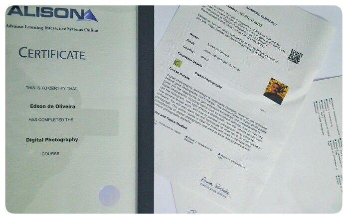 certificate digital alison