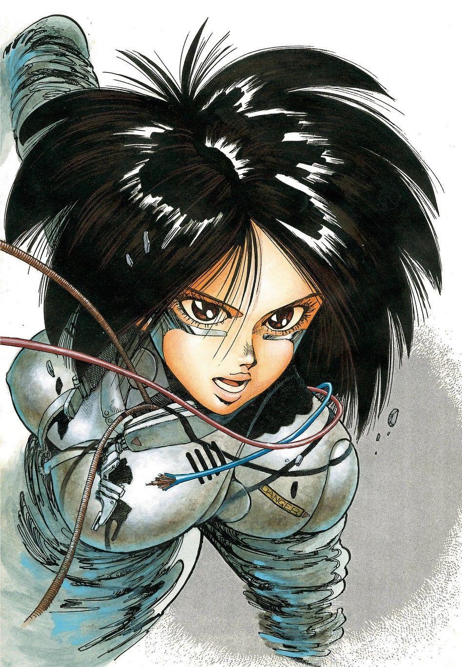 Pin by Rachel Nethaway on Anime etc. Alita battle angel