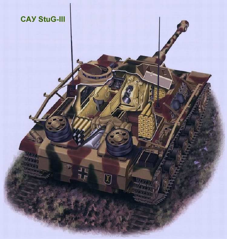 StuG - III - Sezione