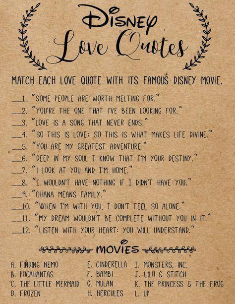 Disney Love Quotes Wedding : disney, quotes, wedding, Wedding, Disney, Quotes, Ideas