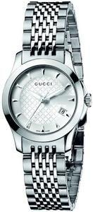 981e7074a80 Gucci Women s YA126501 G-Timeless Silver Dial Stainless-Steel Bracelet Watch