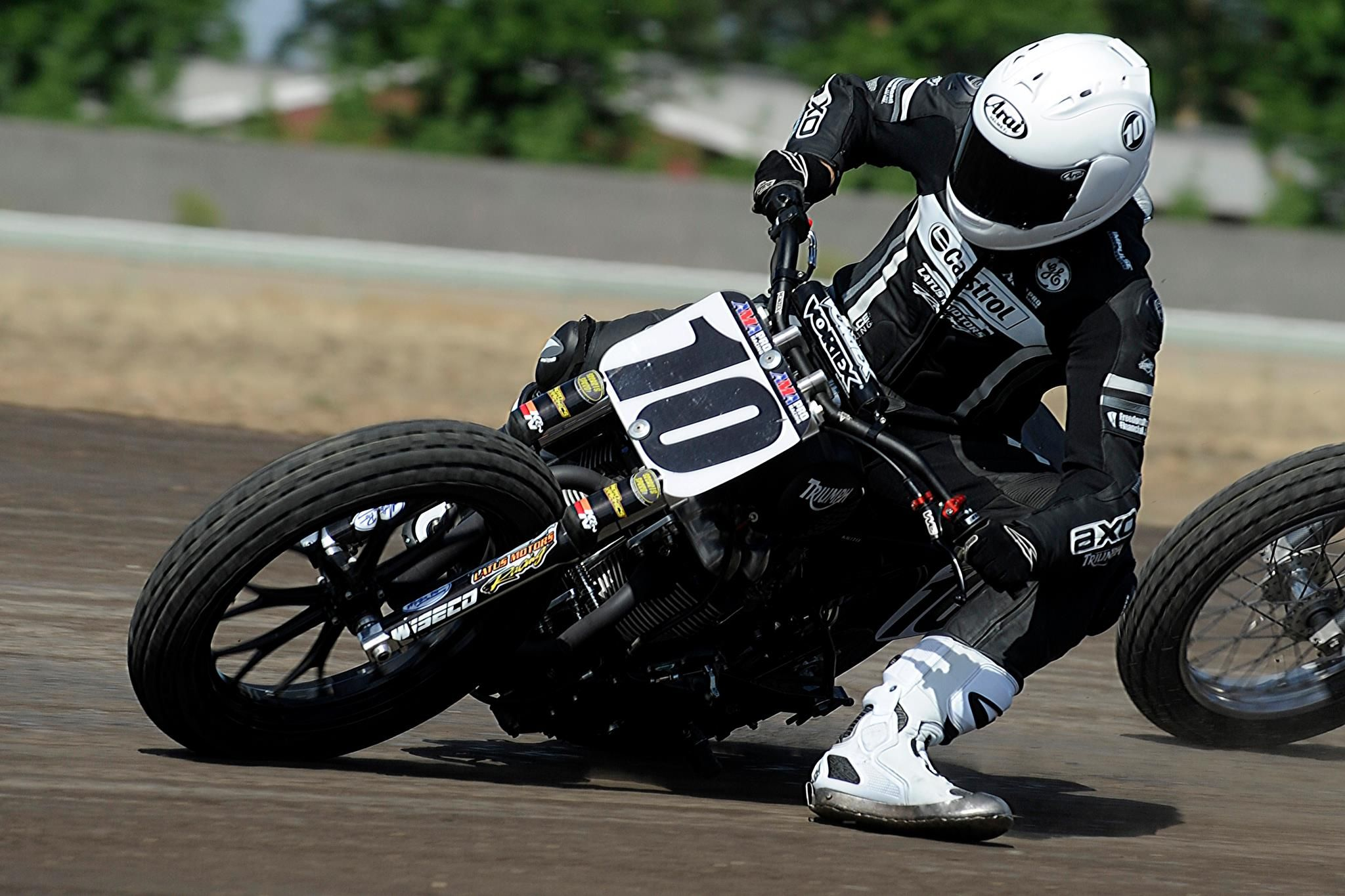Latus Motors Triumph Flat Track Racing Dirt Track Racing Racing Motorcycles