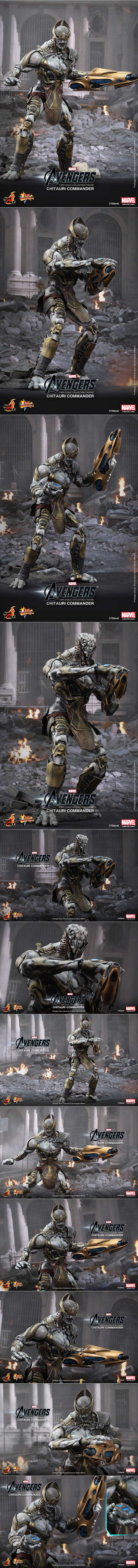 [The Avengers: 1/6th scale Chitauri Footsoldier and Chitauri Commander Collectible Figures Set]