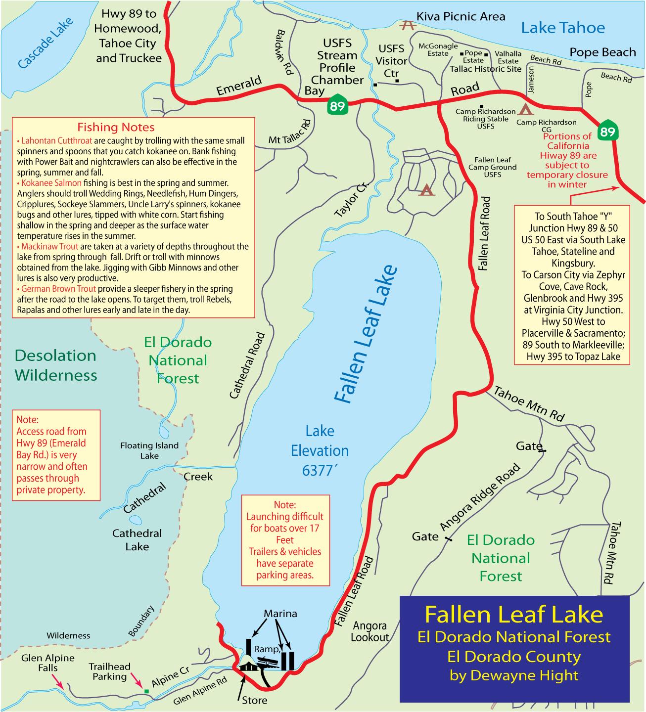 fallen leaf lake map Map Fallen Leaf Lake Recent Articles Staff Reports Guides fallen leaf lake map
