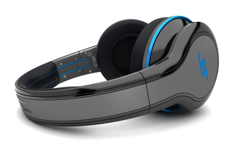 Street by 50 Over-Ear Wired Headphones - Black