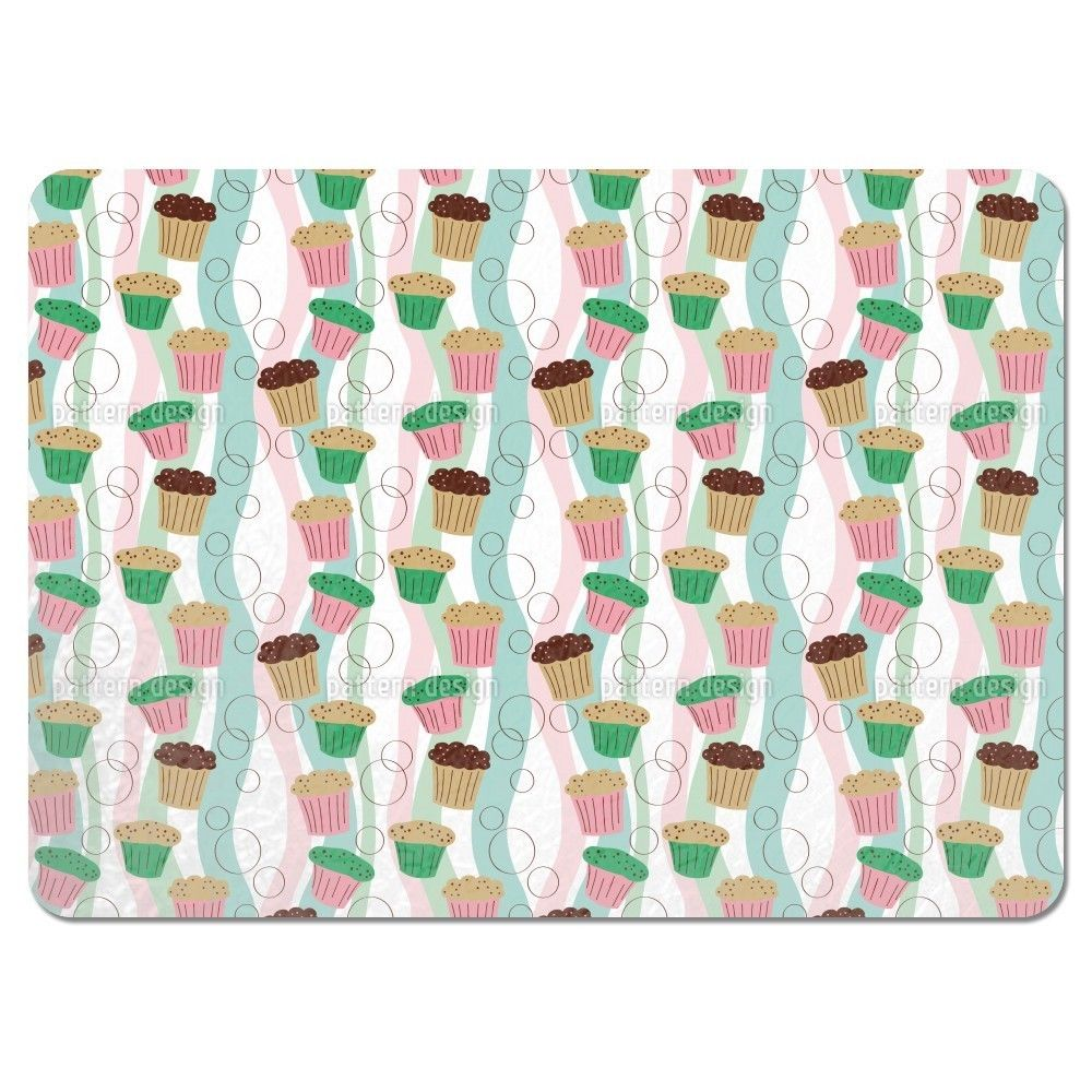 Uneekee Colorful Muffins Placemats