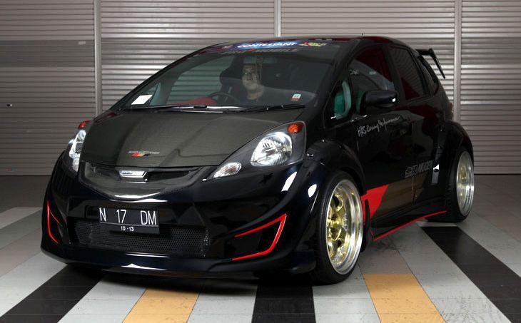 Honda Fit Modifikasi Mobil Mobil Impian Mobil Black honda jazz wallpaper