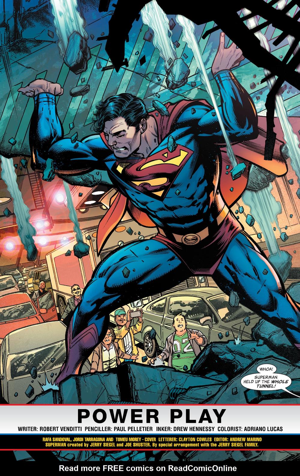 Read Superman Man Of Tomorrow Issue 1 Online Comicpunch Net Superman Artwork Superman Art Comic Books Art