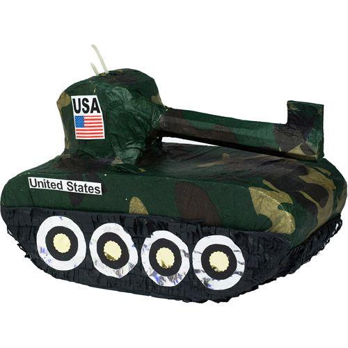 Tank Pinata At Walmart Armys Birthday Army Party Themes For Boys