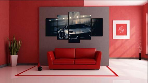 Lamborghini Aventador Wall decor Super Car Lamborghini | Etsy